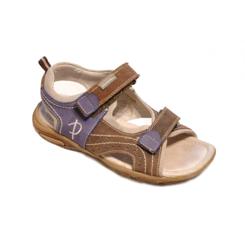 Hnedé chlapčenské sandále PROTETIKA