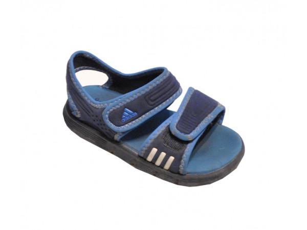 Chlapčenské sandále modré Adidas