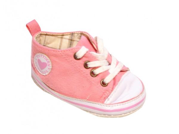 Ružové dievčenské tenisky