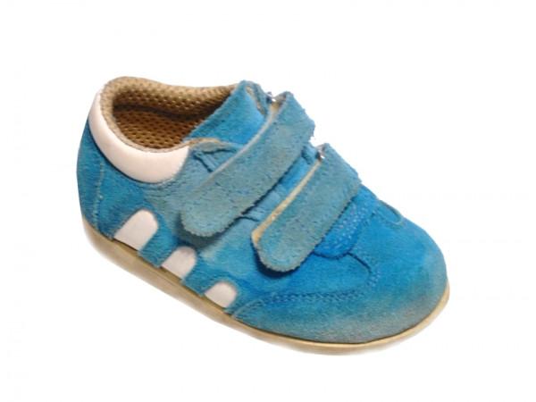 Chlapčenské tyrkysové botasky