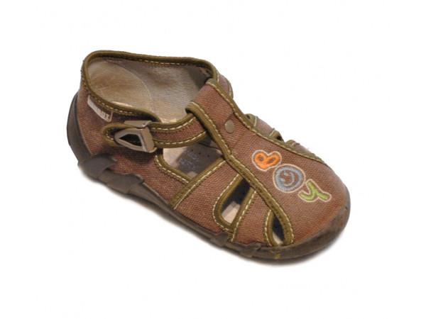 Hnedé topánočky chlapčenské REN BUT