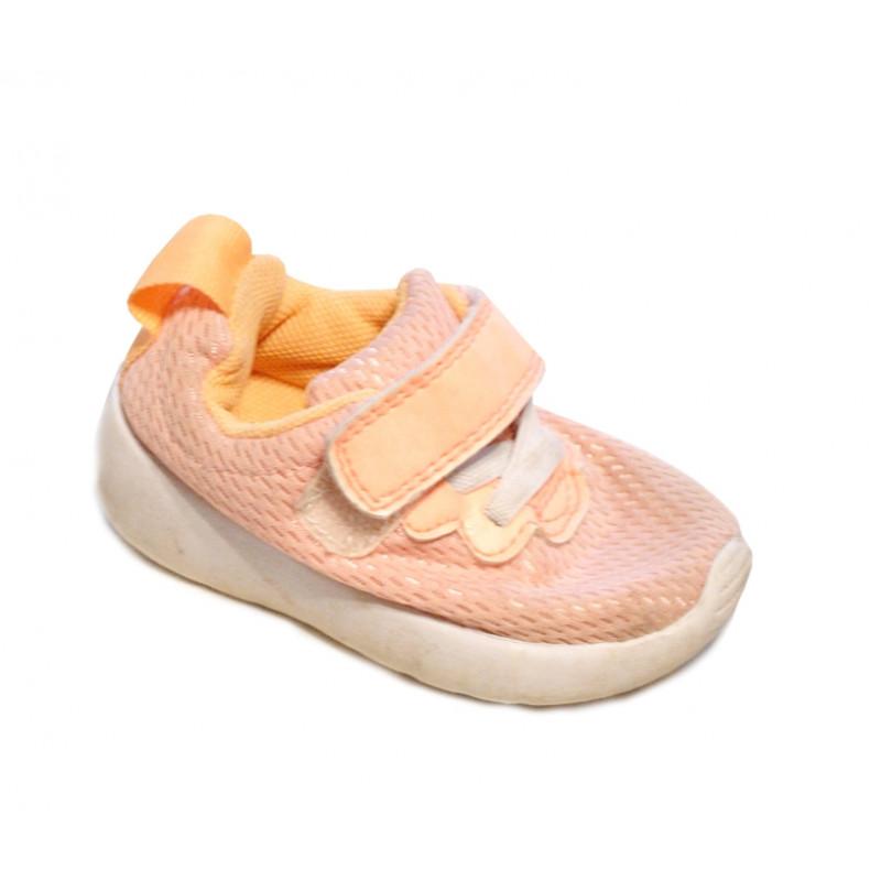 Ružovo oranžové baby topánočky  H&M