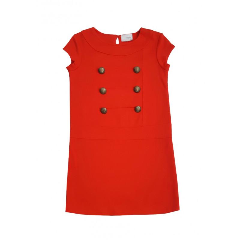 Dievčenské červené šaty NEXT