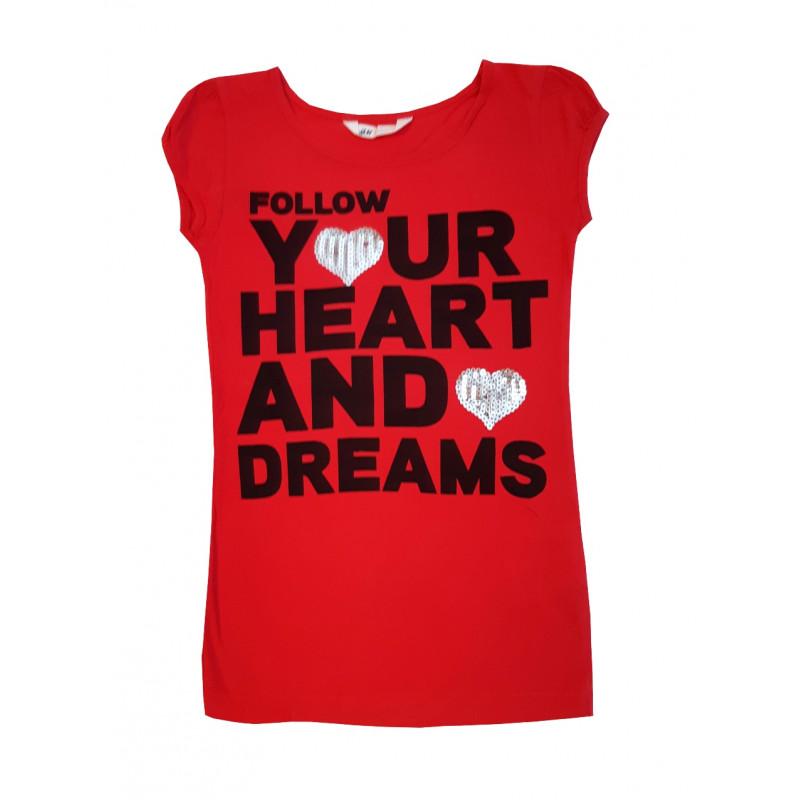 Dievčenské tričko H&M