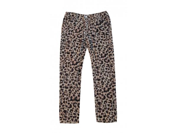 Dievčenské leopardie menčestráky H&M