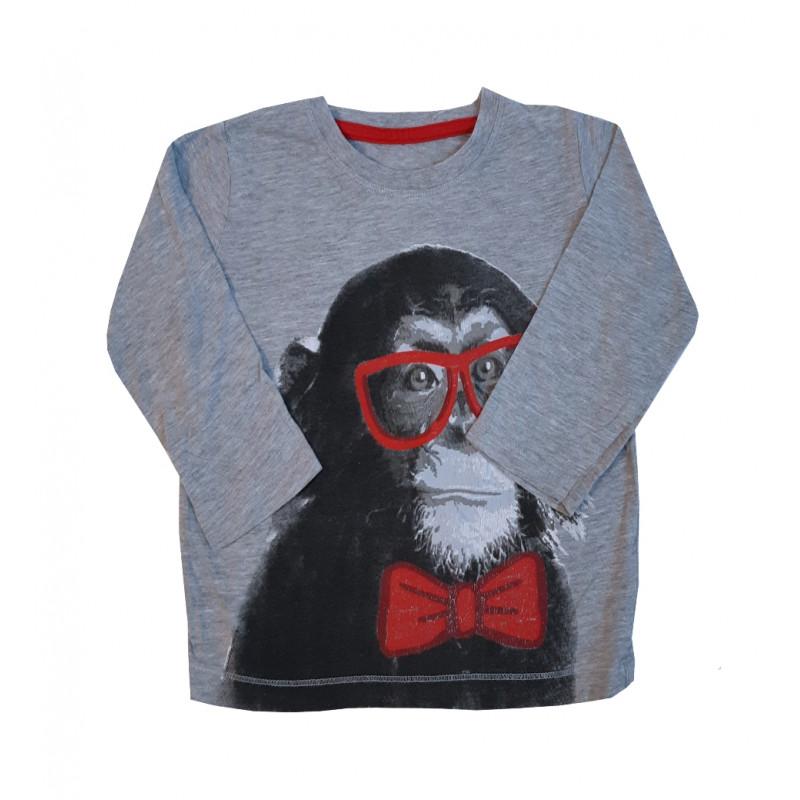 Detské tričko so šimpanzom