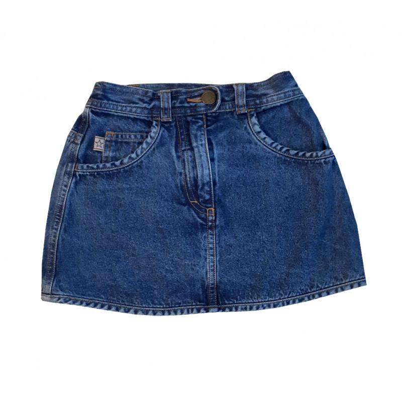 Dievčenská riflová sukňa MINI STARS