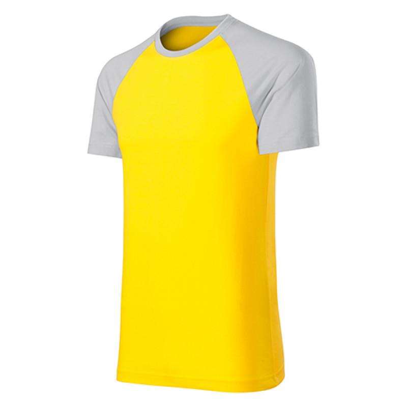 Unisex Tričko DUO žltá