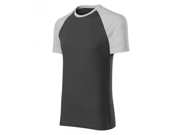 Unisex Tričko DUO sivá