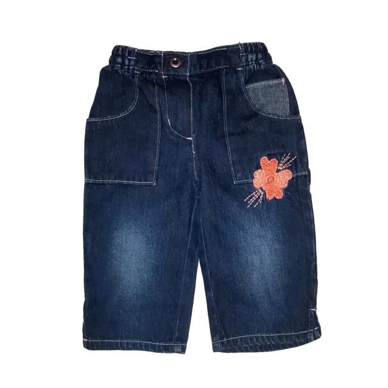Dievčenské riflové nohavice