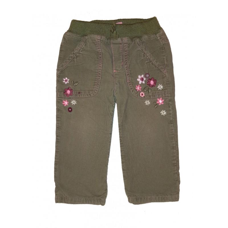 Dievčenské menčestrové nohavice CHEROKEE