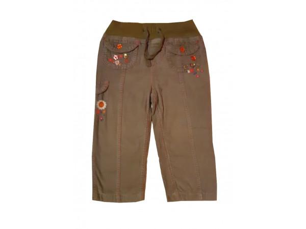 Dievčenské menčestrové nohavice MARKS & SPENCER