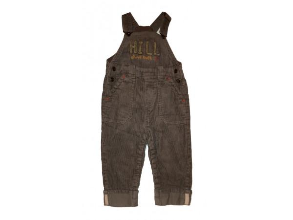 Chlapčenské menčestrové nohavice BABY CLUB