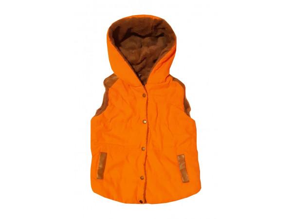 Detská oranžová vesta