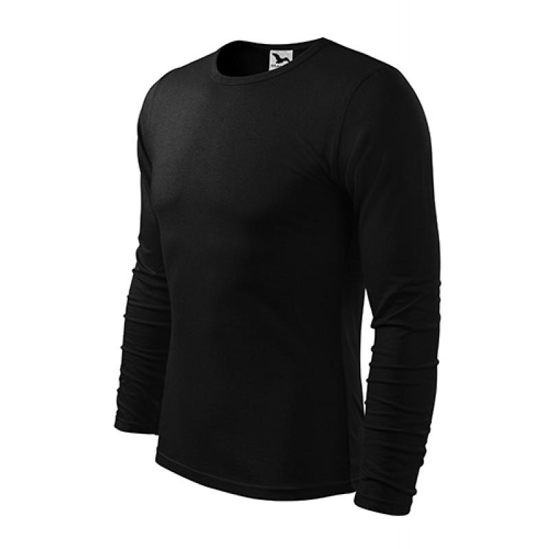 Pánske Tričko FIT-TLS čierna