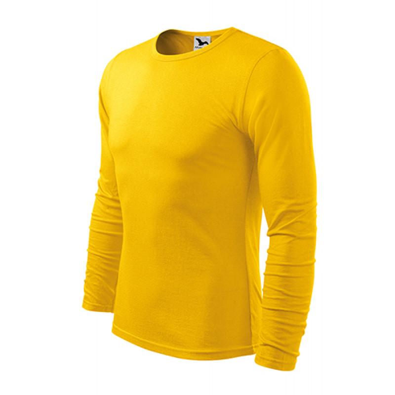 Pánske Tričko FIT-TLS žltá