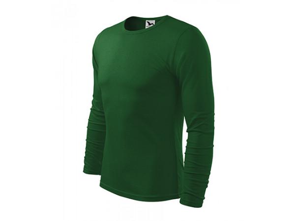 Pánske Tričko FIT-TLS fľaškovo zelená
