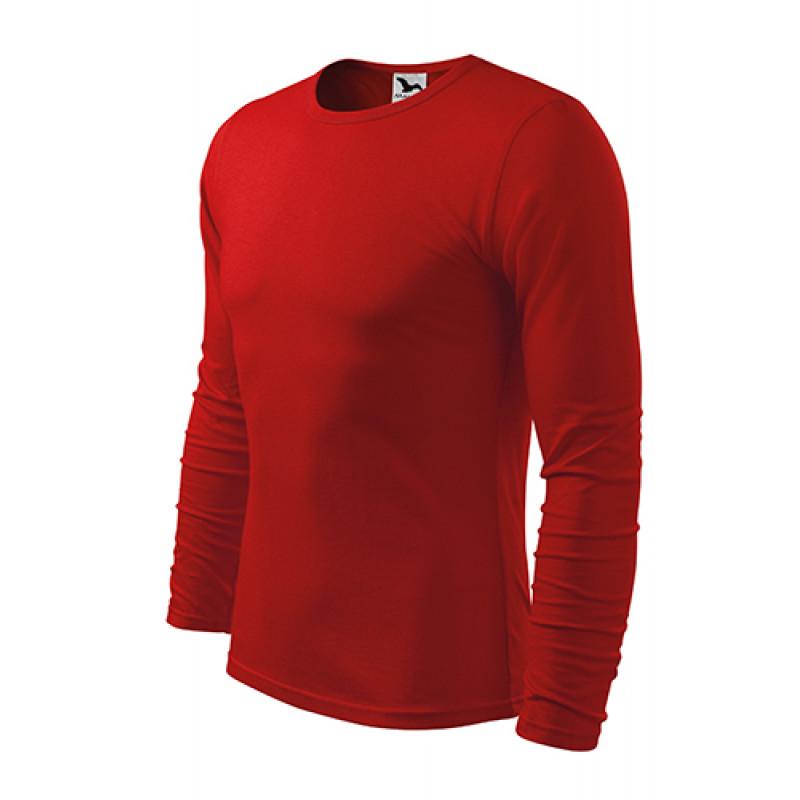 Pánske Tričko FIT-TLS červená