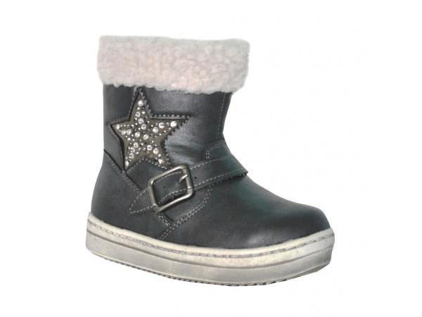 Detská vychádzková obuv s kožušinou