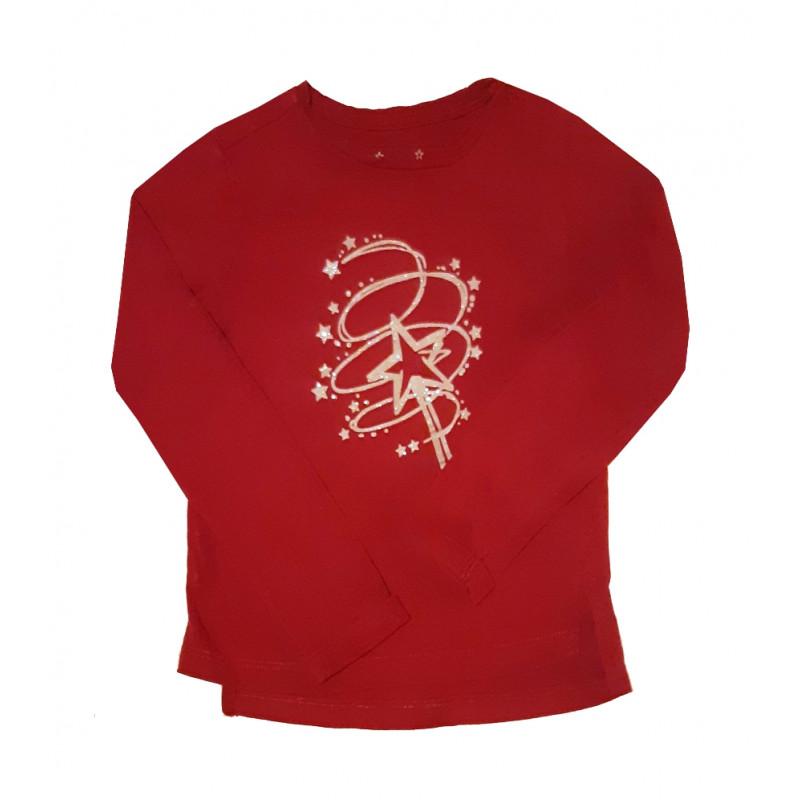 Fuchsiové dievčenské tričko PAZZAITALIA