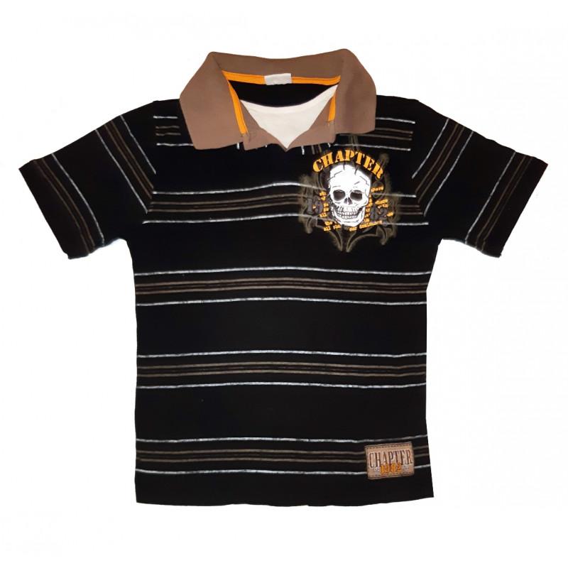 Čierne chlapčenské tričko DOGNOSE