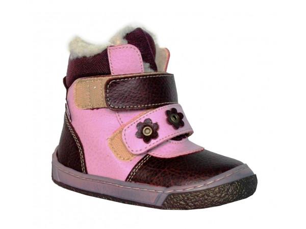 Detská zateplená vychádzková obuv