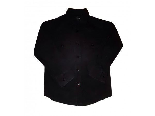 Chlapčenská čierna košeľa REBEL