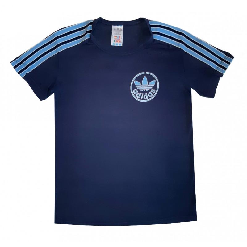Chlapčenské tričko tmavomodré ADIDAS