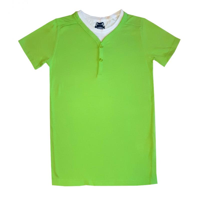 Chlapčenské zelené tričko WILD & ROUGH