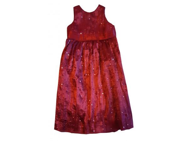 Dievčenské šaty CHEROKEE bordové