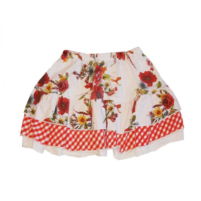 Dievčenská suknička AQUAMARINE