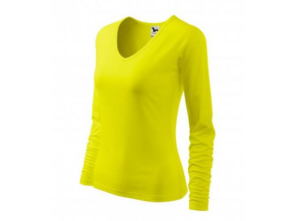 Dámske Tričko Elegance citrónová