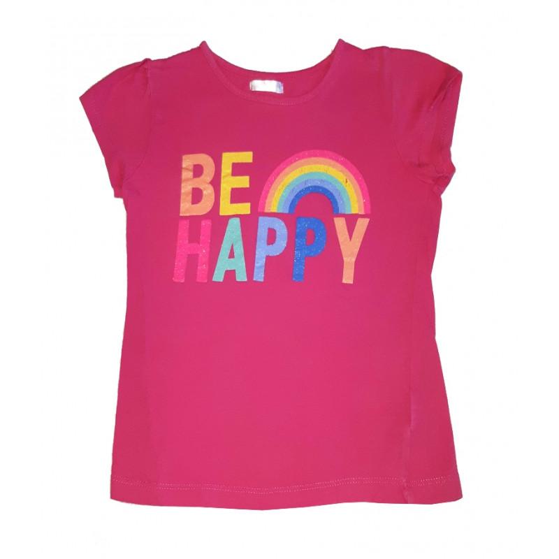 Dievčenské ružové tričko PEPCO