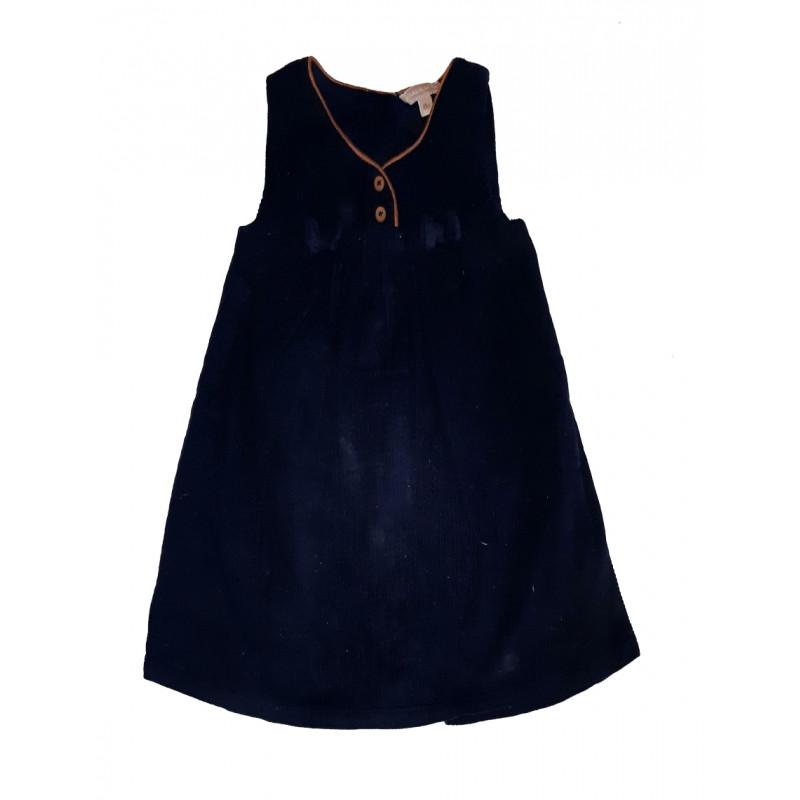 Dievčenské tmavomodré šaty, GRAIN DEBLÉ