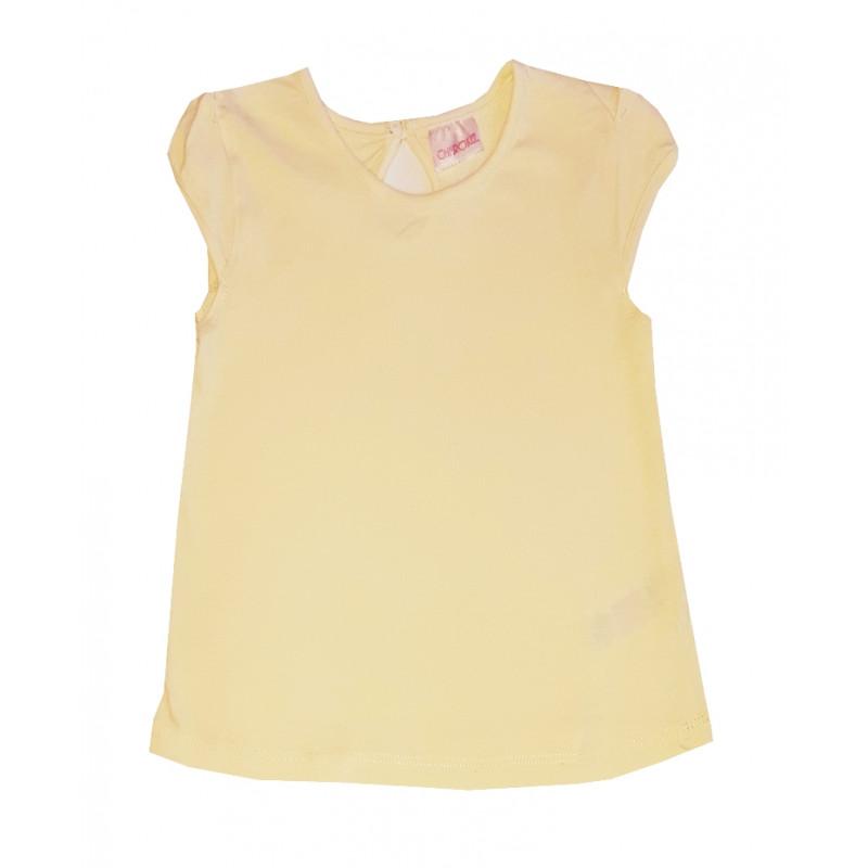 Dievčenské žlté tričko CHEROKEE