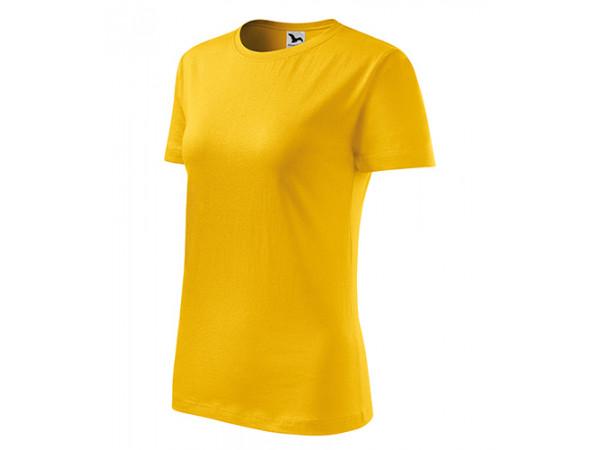Dámske Tričko Classic New žltá