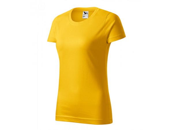 Dámske Tričko Basic žltá