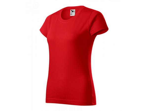 Dámske Tričko Basic červená