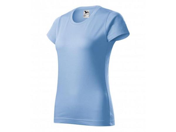 Dámske Tričko Basic nebeská modrá