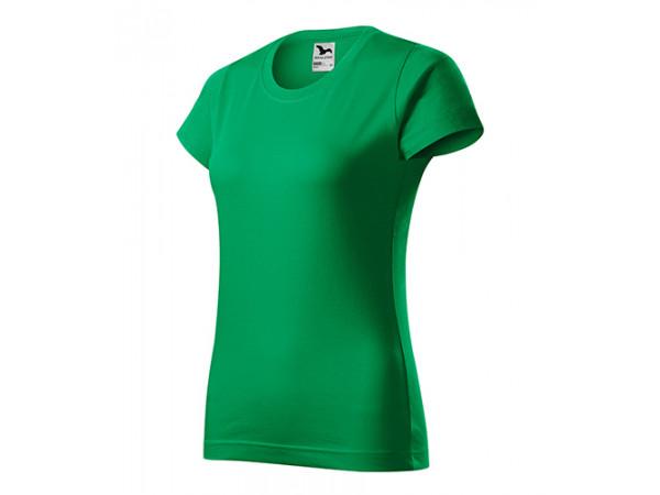 Dámske Tričko Basic trávová zelená