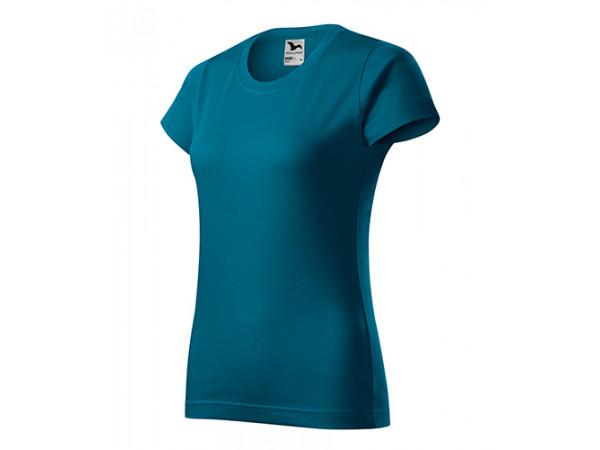 Dámske Tričko Basic petrolejovo modrá