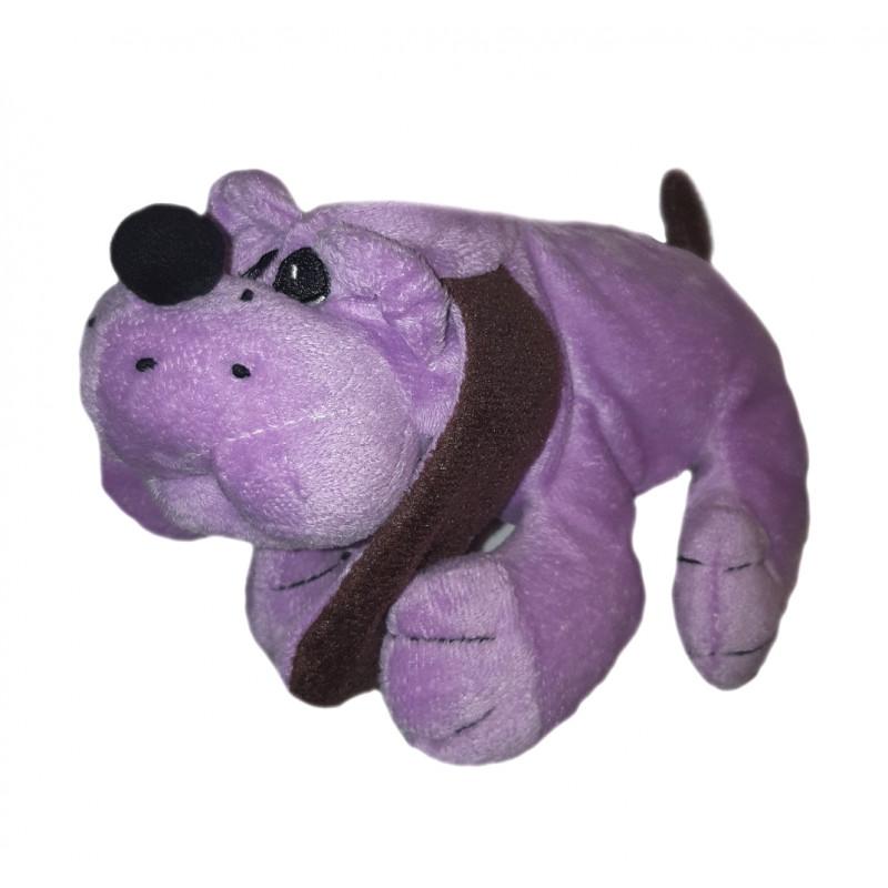 Fialový ležiaci psík