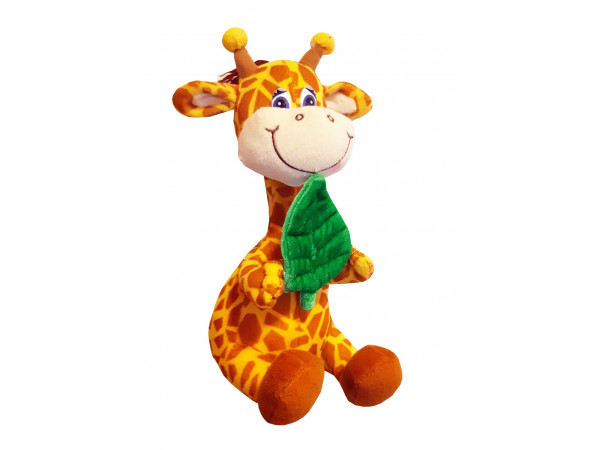 Plyšová papajúca žirafa