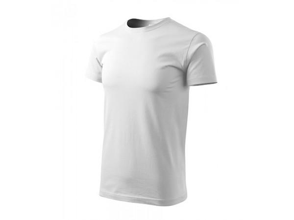 Unisex Tričko Heavy New biela
