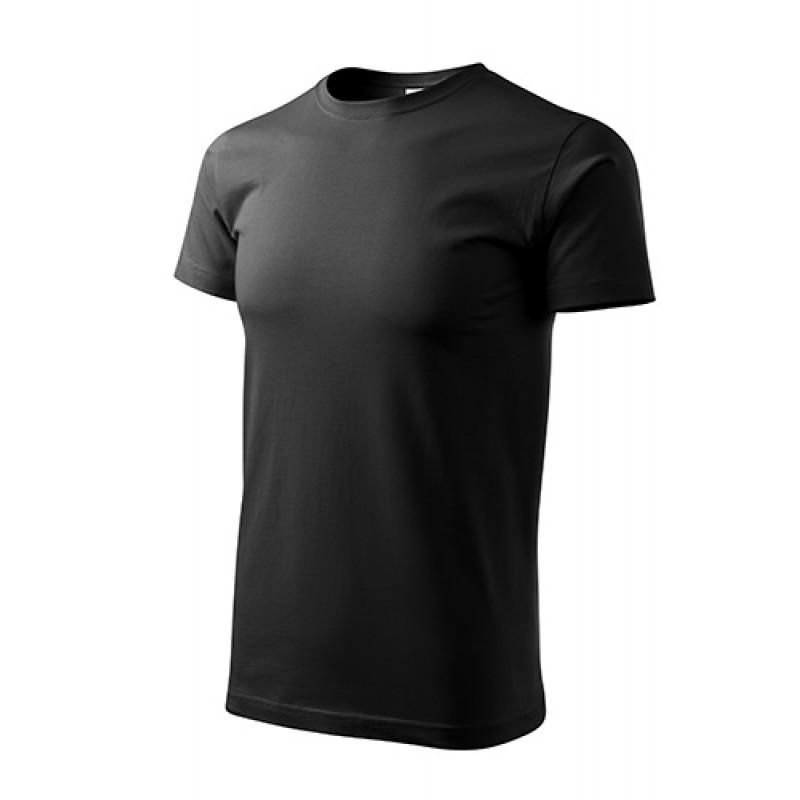 Unisex Tričko Heavy New čierna