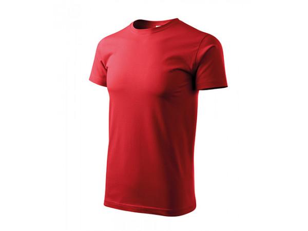 Unisex Tričko Heavy New červená