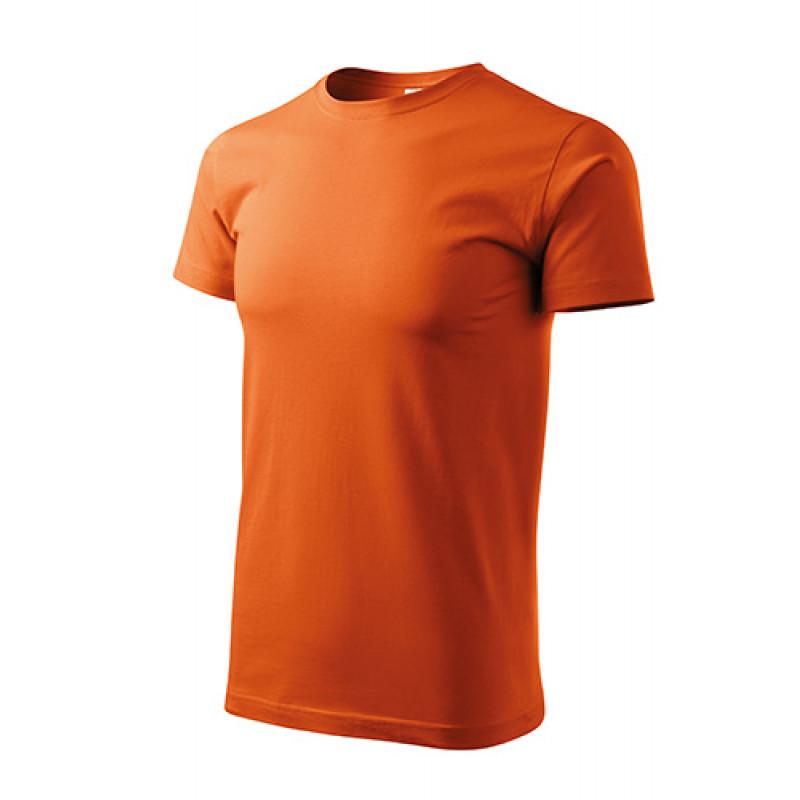 Unisex Tričko Heavy New oranžová
