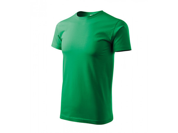Unisex Tričko Heavy New trávová zelená