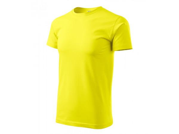 Unisex Tričko Heavy New citrónová