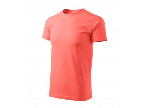 Unisex Tričko Heavy New korálová